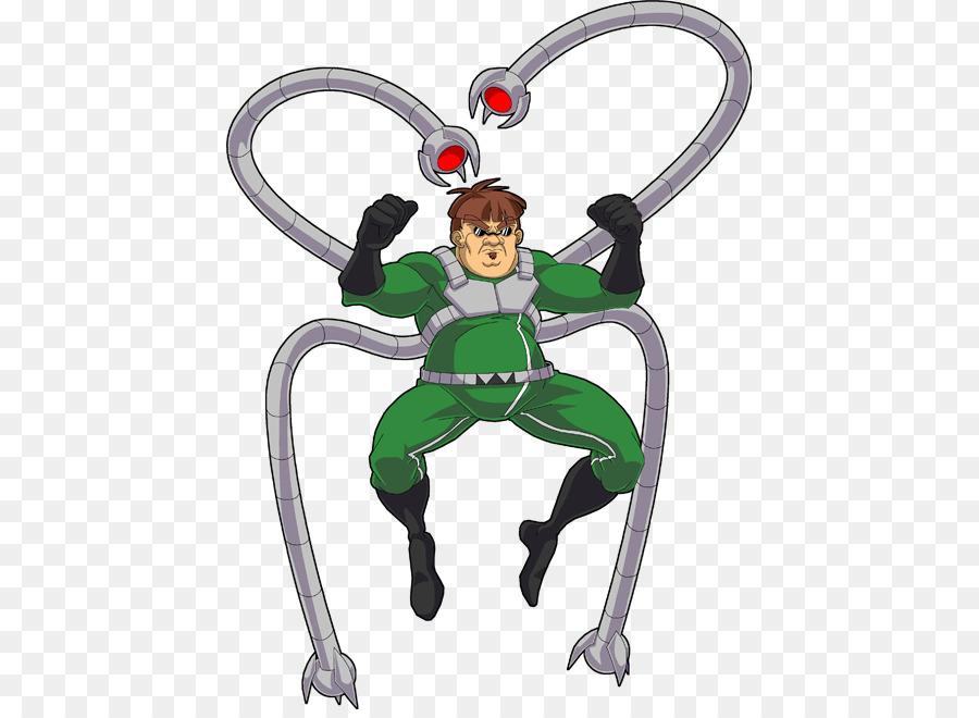 Dr. Otto Octavius Spider Man Cartoon Lego Marvel Super Heroes Comics    Cartoon Octopus