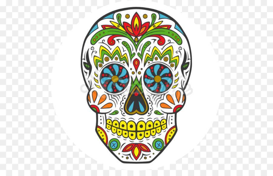 Calavera Día de Muertos en México Cráneo cocina Mexicana - cráneo ...