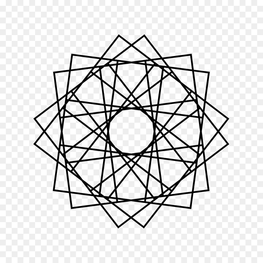 Geometry Coloring book Geometric shape Drawing - design png download ...
