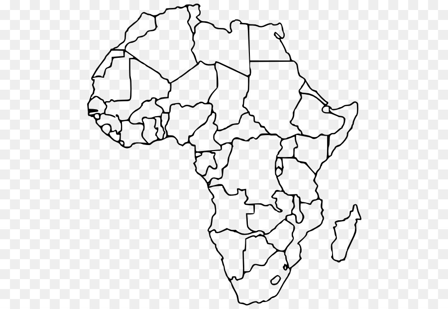 blank map africa world map africa