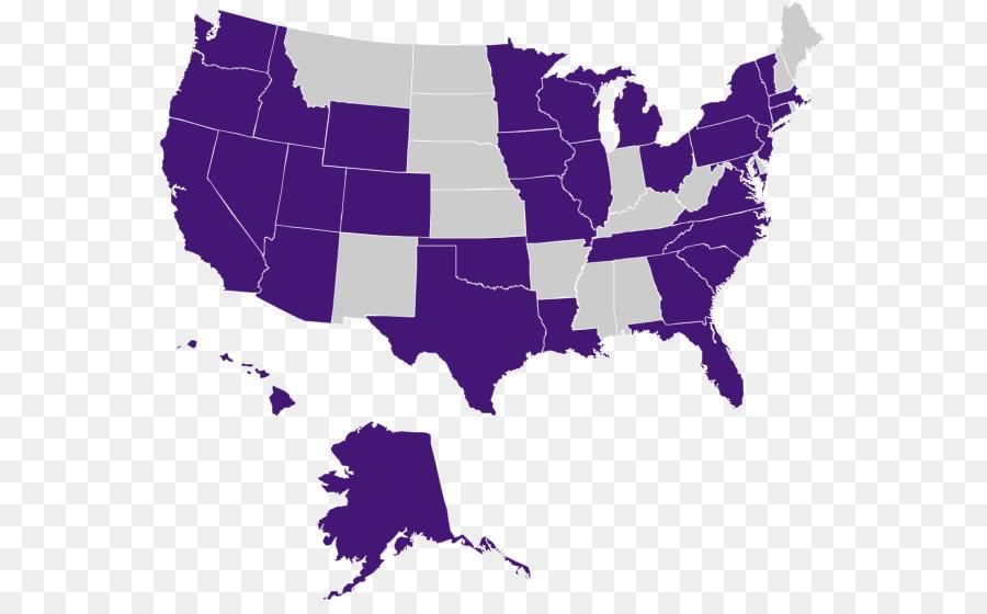Kansas City Missouri Indiana Map Us State Map Png Download 614 - Map-of-us-missouri