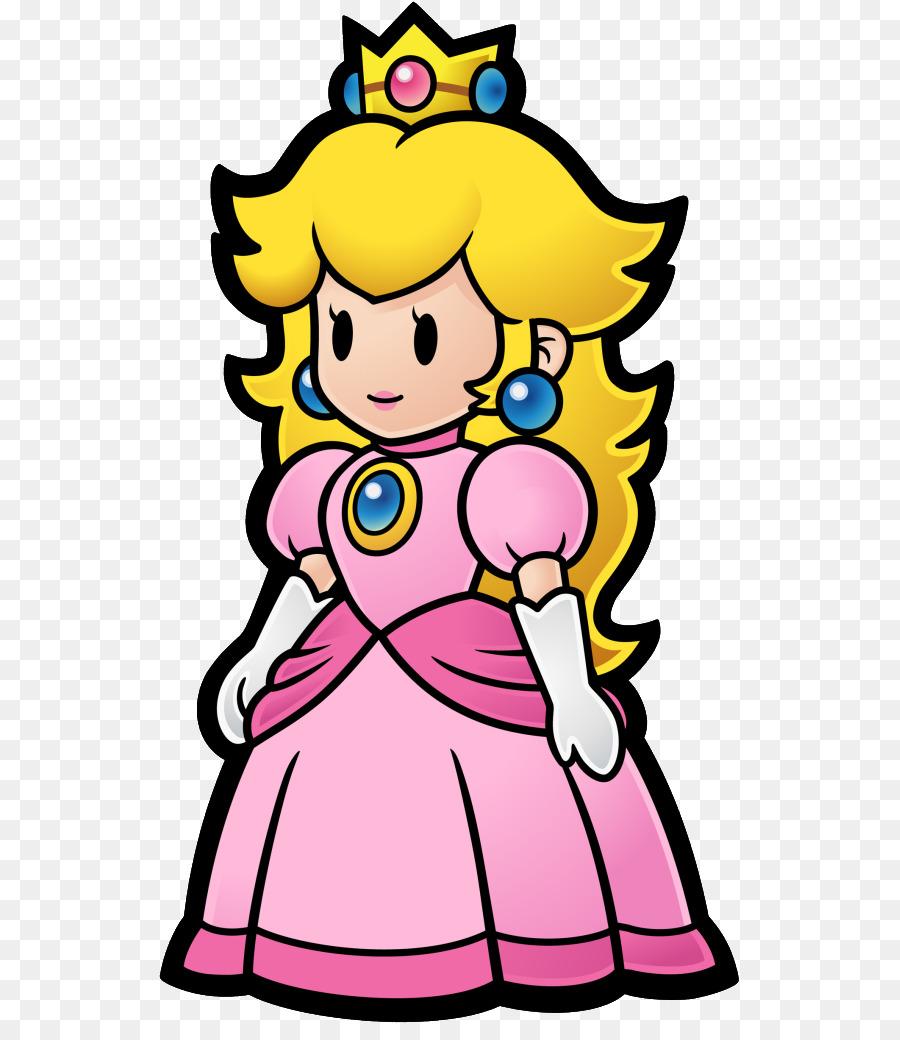 Super Mario Bros A La Princesa Peach De Super Paper Mario - mario ...