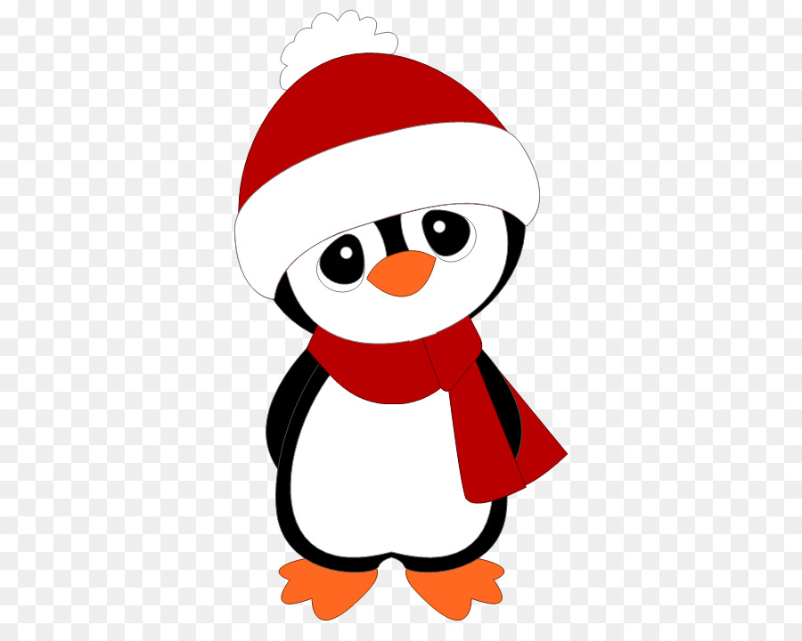 Penguin Drawing Christmas Clip Art Penguin Christmas Png Download