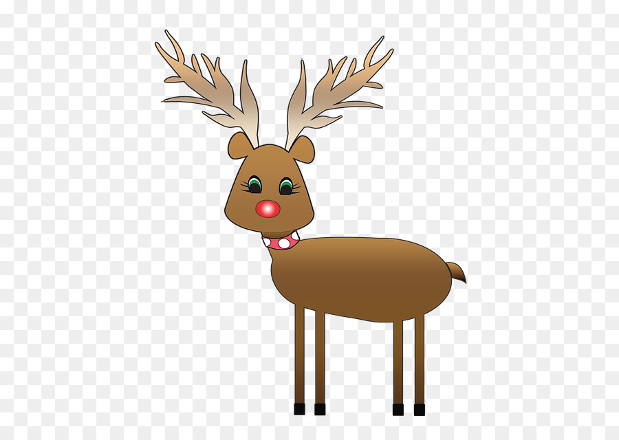 Reindeer Rudolph and Frosty\'s Christmas in July Clip art - christmas ...