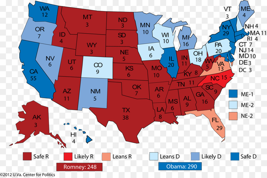 Us Presidential Election 2016 United States Popular Vote Electoral - Us-map-vote-2016