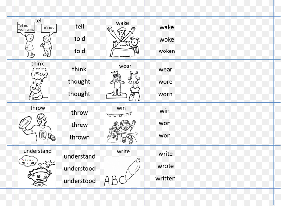 Document Drawing Line Angle Irregular Verbs Png Download 1543