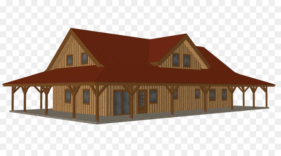 Kit de casa Granero de Poste de la construcción de encuadre - Modelo ...