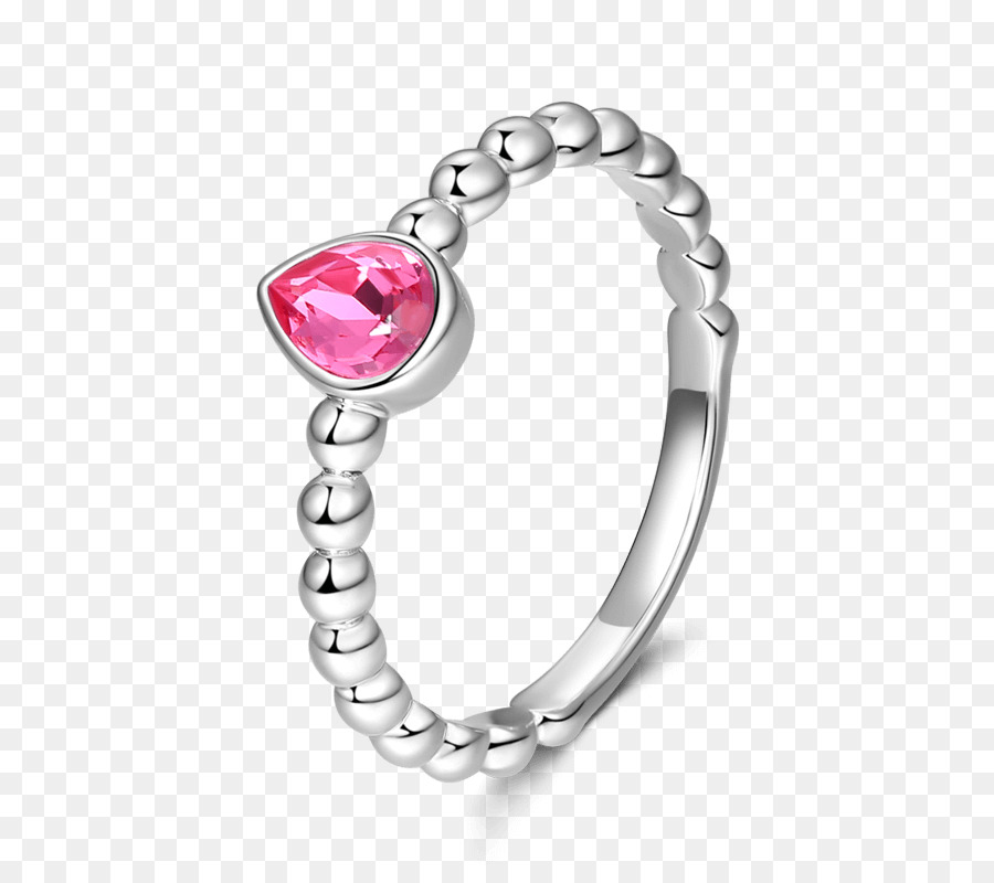 Ruby Bracelet Silver Wedding Ring Jewellery Couple Rings Png