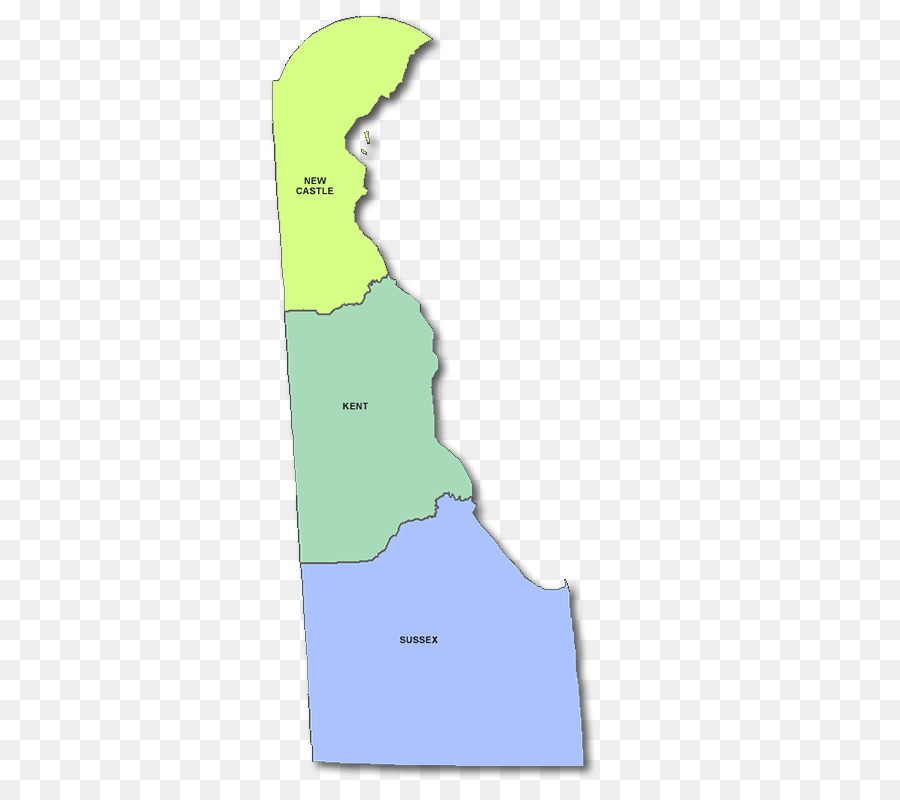 New Castle County, Delaware, Kent County, Delaware, Delaware County on