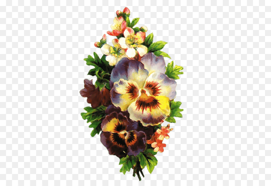 Flower Photography Clip Art Flores Vintage Png Download 450 615