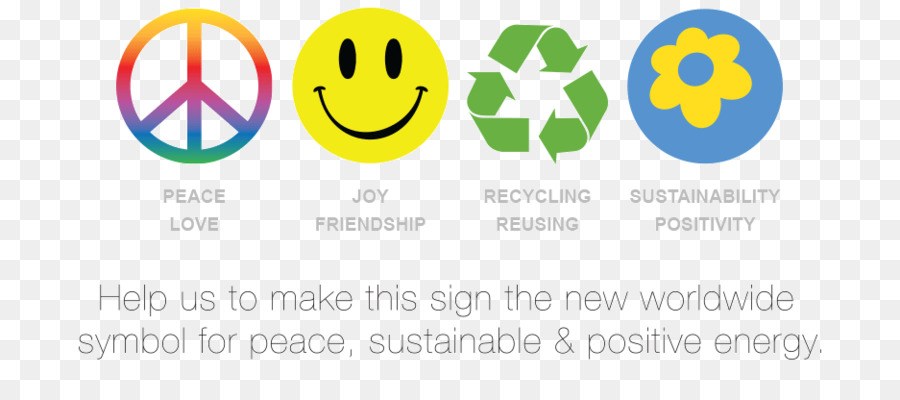 Peace Symbols Sign Meaning Positive Energy Png Download 937415