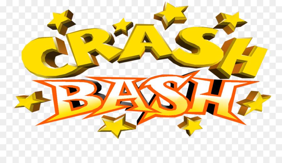 crash bash logo desktop wallpaper brand font crash bash png