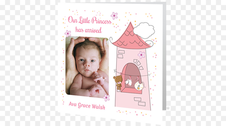 infant baby announcement greeting note cards childbirth toddler baby announcement card - Baby Announcement Cards