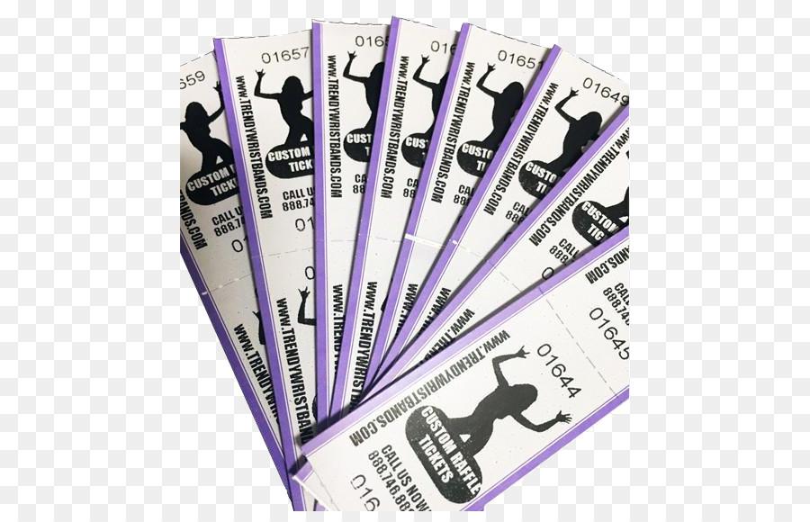 paper raffle ticket printing tyvek raffle ticket png download