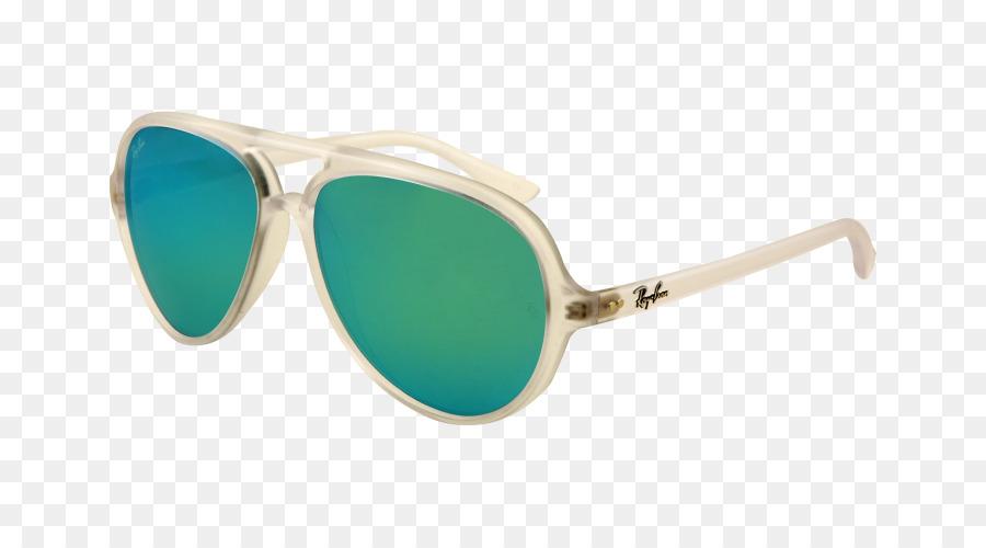 a22cc9dd0 Óculos aviador da Ray-Ban Cats 5000 Clássico - fosco - Transparente ...