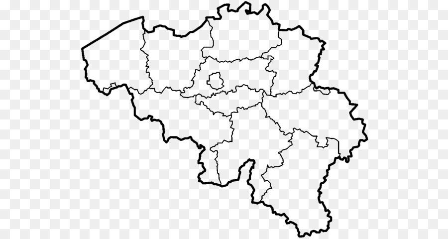 Provinces of Belgium Blank map Mons World map - belgium png download ...
