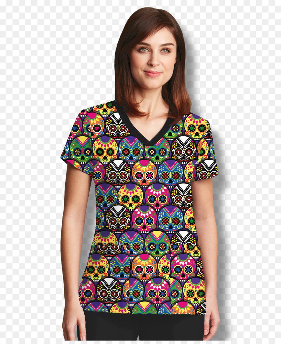 Exfoliantes camiseta de Calavera Ropa de Anatomía de Grey - cráneo ...