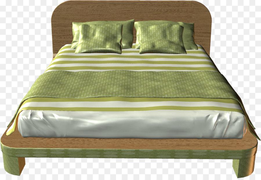 Marco de la cama de Colchón de la Cama de Hojas de Madera ...