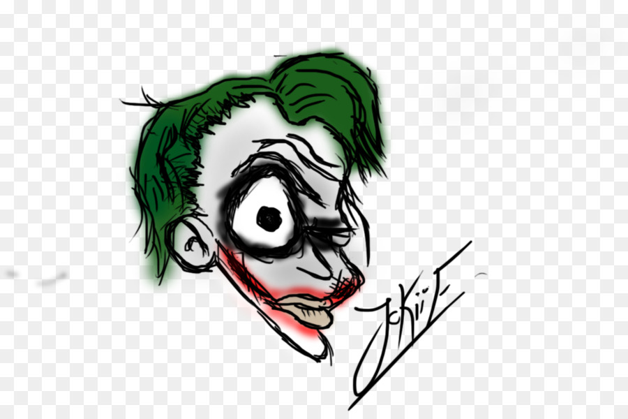 Joker Cartoon Font Heath Ledger Joker Png Download 1024670