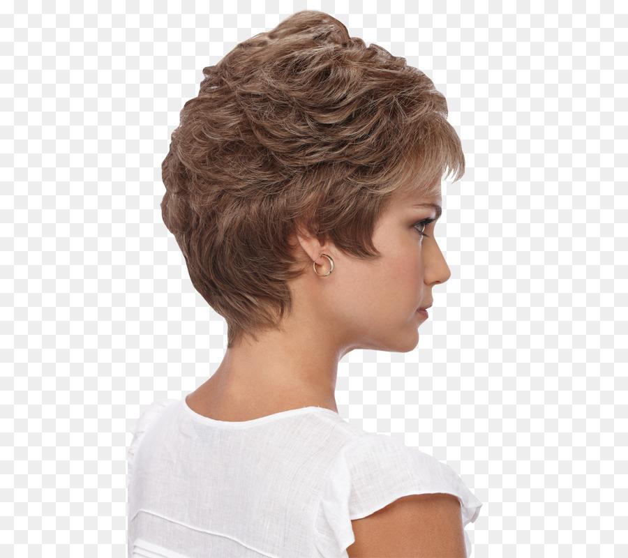 Braune Haare Frisur Perücke Pixie Cut Lace Perücke Png