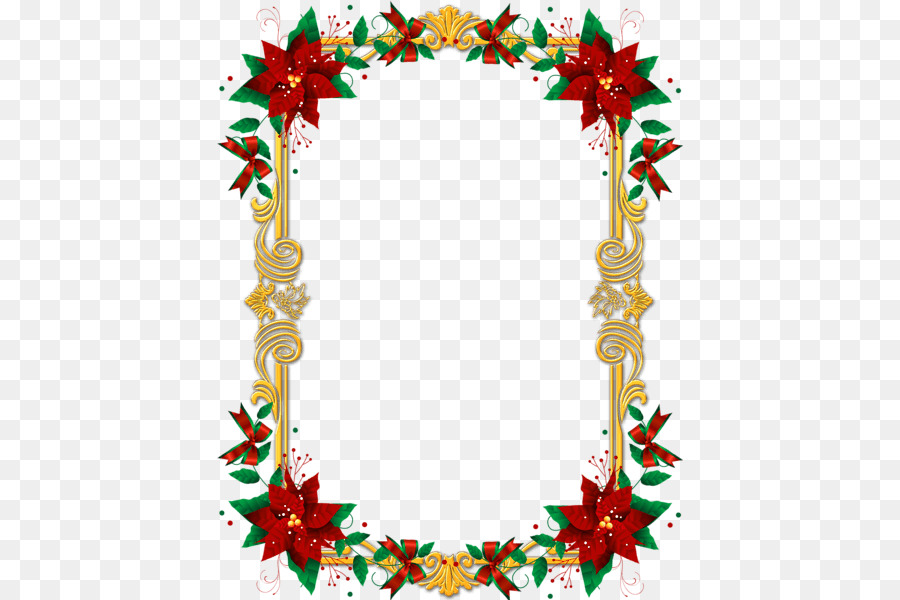 Borders And Frames Christmas Ornament Picture Frames Clip Art