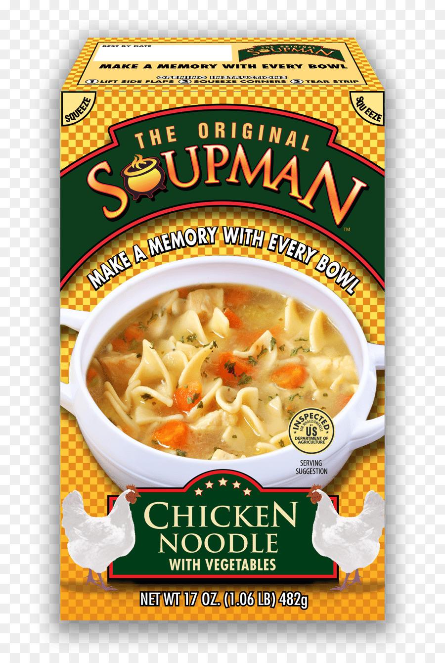 Die Original Soupman Biskuit-italienische Küche-Huhn-Suppe Corn ...
