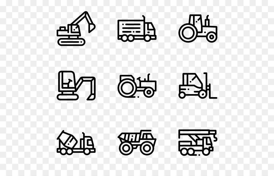 Architectural Engineering Heavy Machinery Computer Icons Forklift
