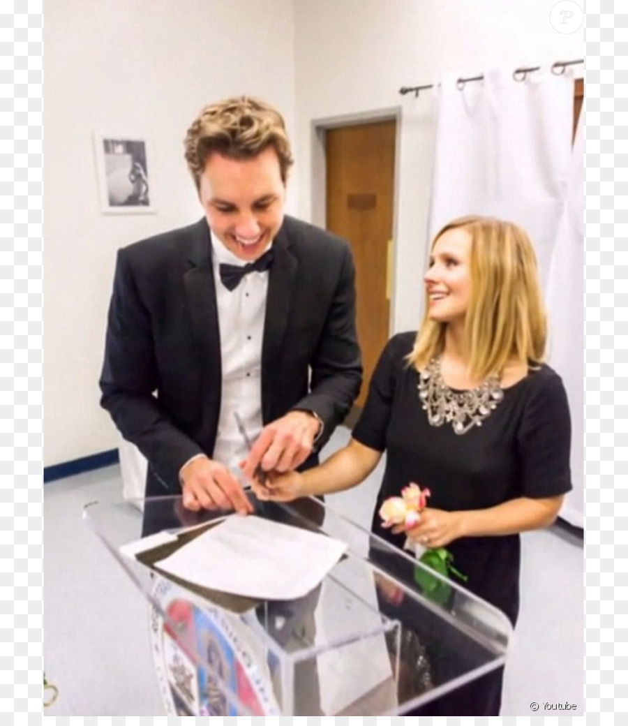 Wedding Dress Marriage The Dress Kristen Bell Png Download 950