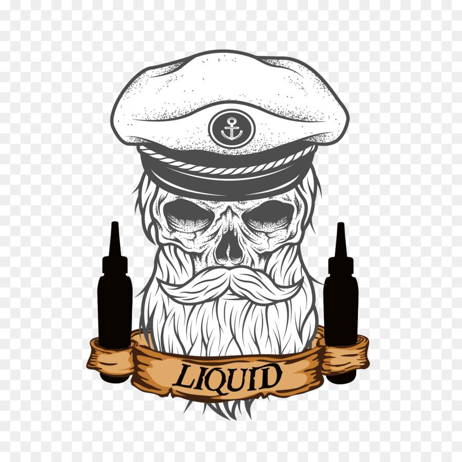 Sailor Tattoos Beard Skull Beard Png Download 28002800 Free