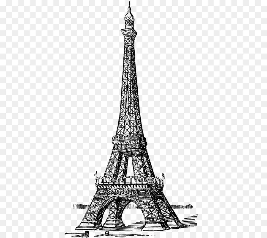 Torre Eiffel Dibujo para Colorear libro Cuaderno - tour eiffel png ...