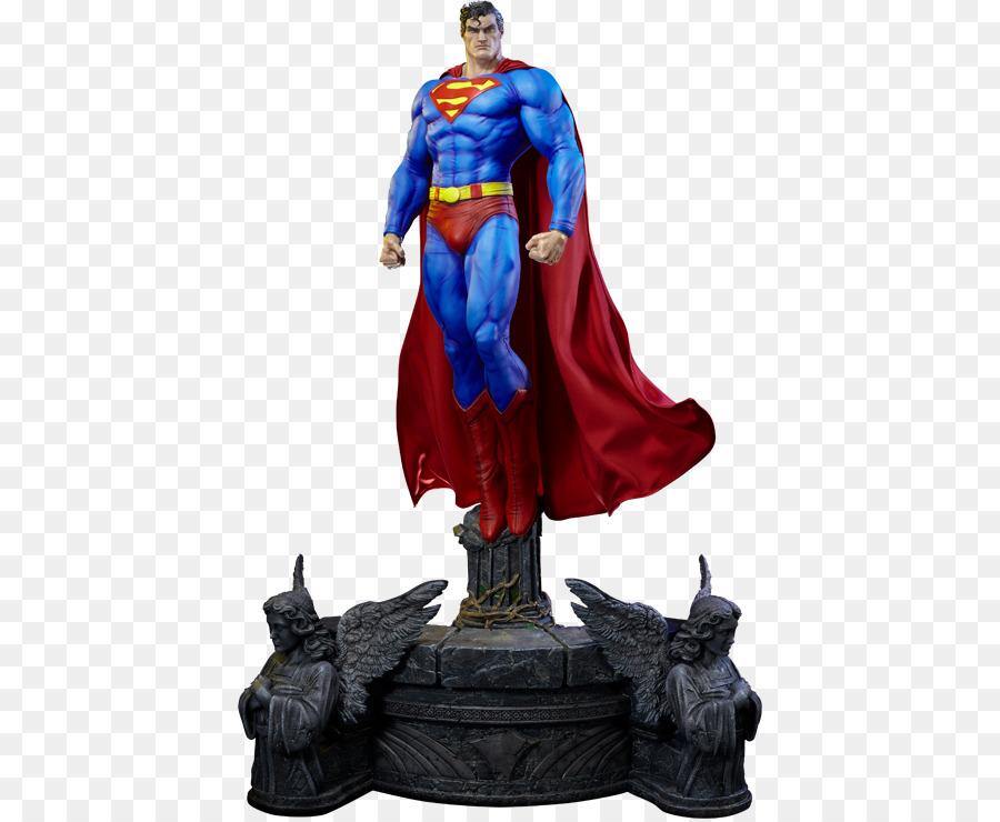 Superman batman: hush poison ivy statue superman cloak png.