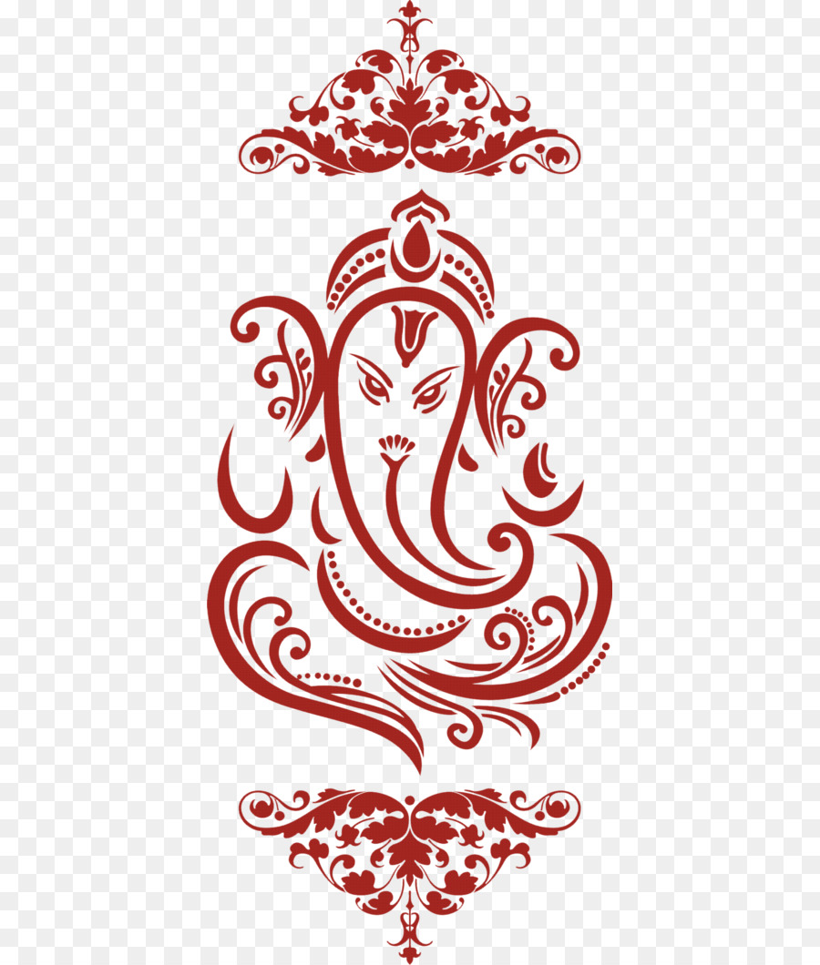 Ganesha Wedding invitation Clip art - wedding card png download ...