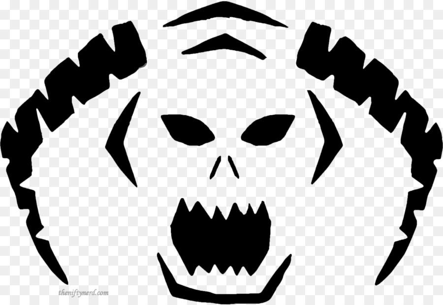 Gran Calabaza Jack-o\'-lantern Halloween Plantilla - el tallado de ...