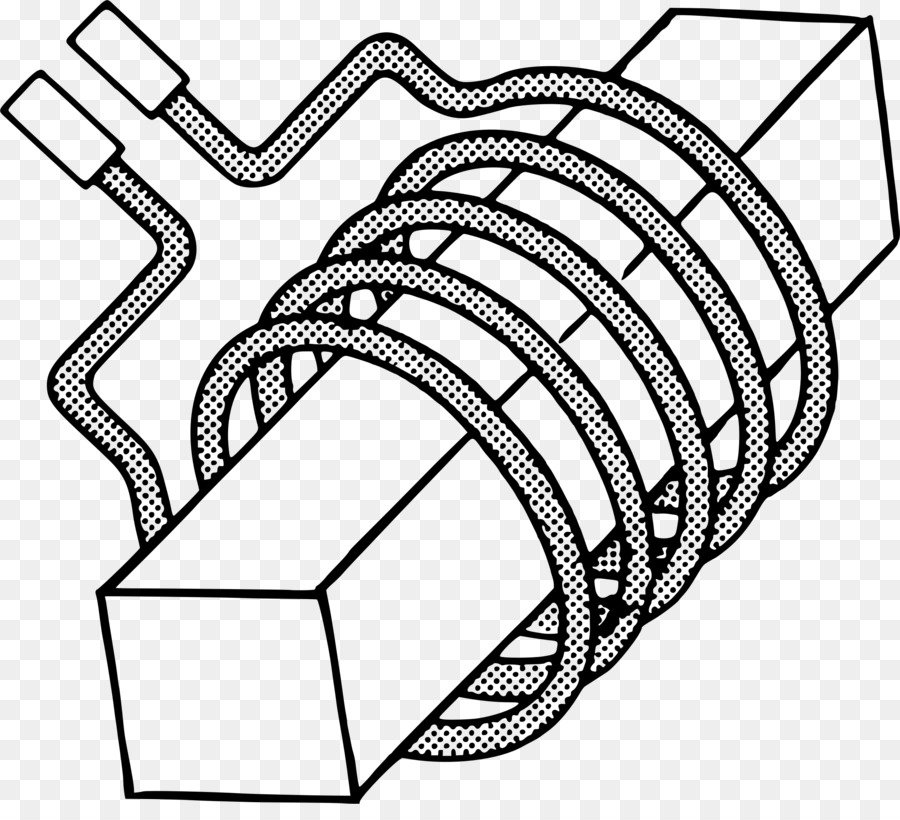 Electrical Wires Cable Inductor Clip Art