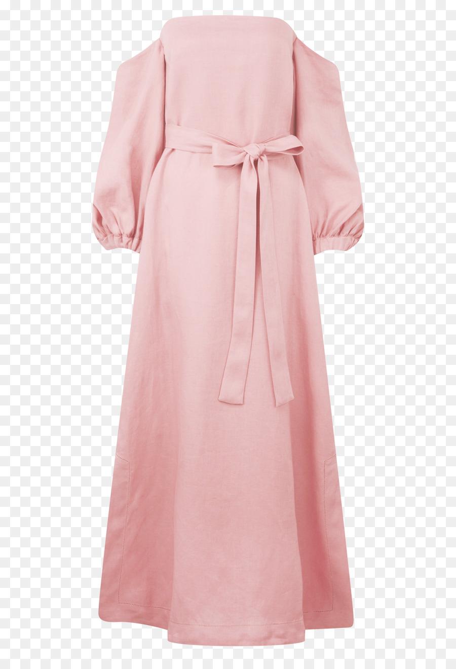 Túnica Hombro Vestido De Manga Rosa M - vestido Formatos De Archivo ...