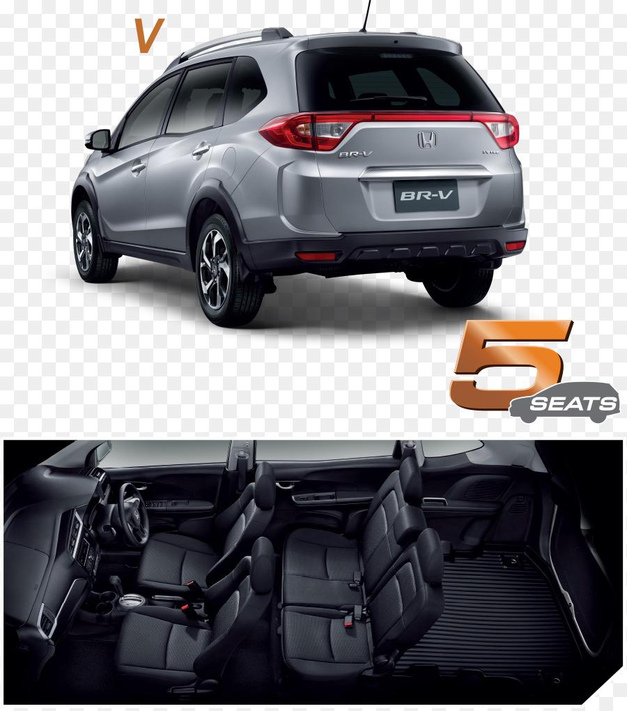 Honda Mobilio Car Honda City Honda Br V Honda Brv Png Download