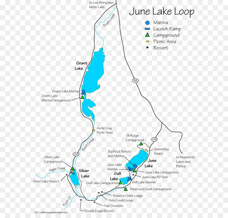 June Lake, California Mammoth Lakes Lopez Lake Bishop Campsite ...