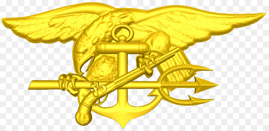 Gold Character Symbol Fiction Beak Navy Seal Png Download 935