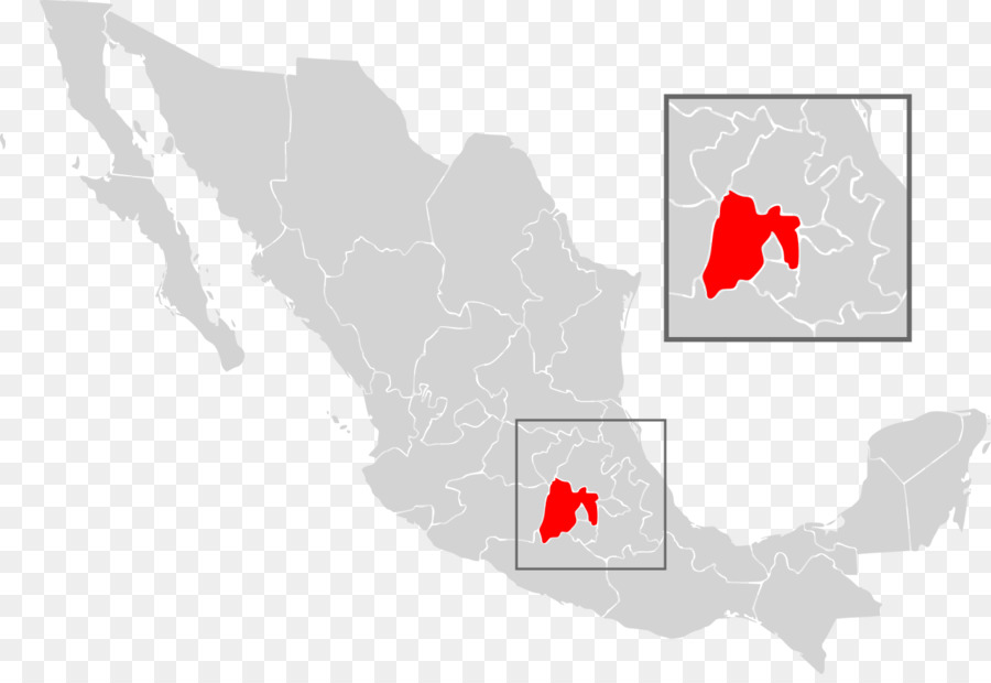 Mexico City Blank map United States Geography - map png download ...