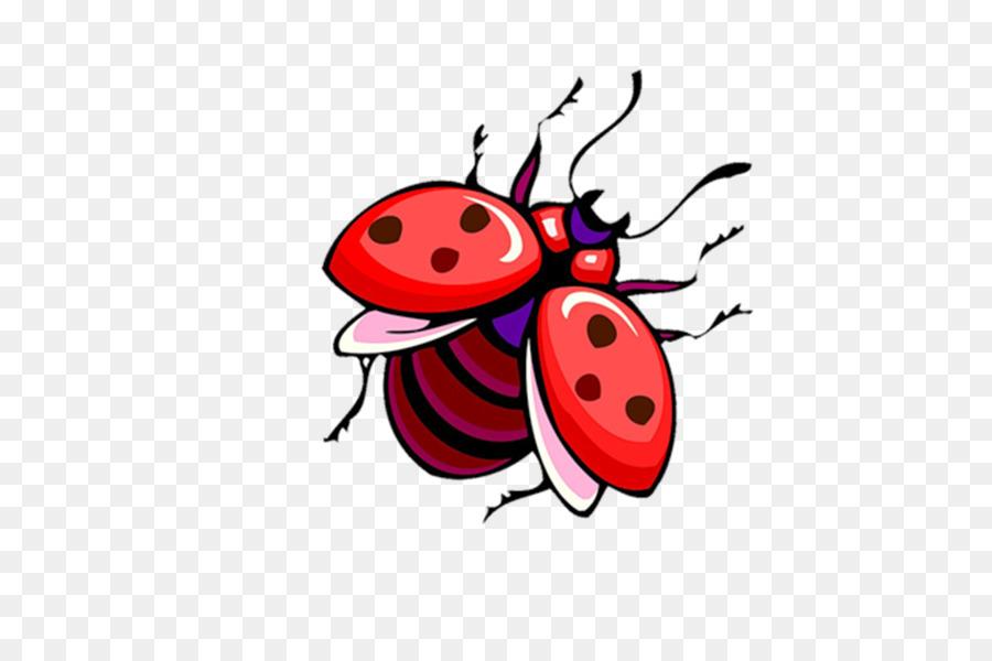 Coccinella Disegno Cartoon Clip Art Gm Scaricare Png Disegno Png
