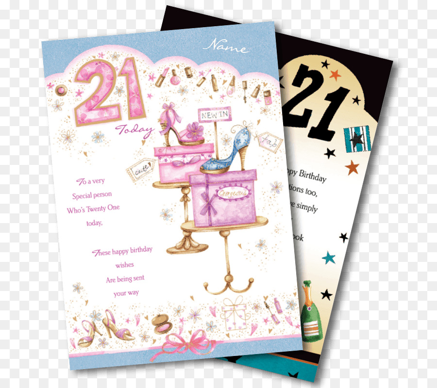 Birthday Greeting Note Cards Wish Daughter Font