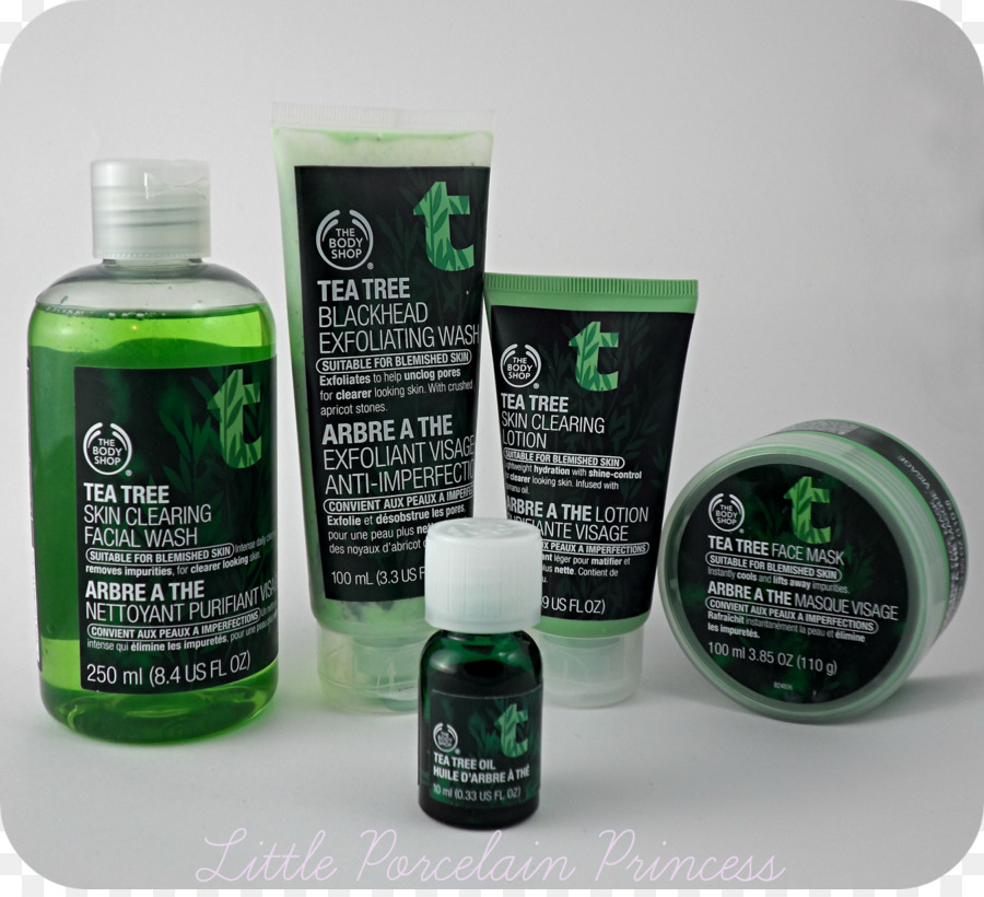 Lotion Tea Tree Oil The Body Shop Skin Care Tea Png Download
