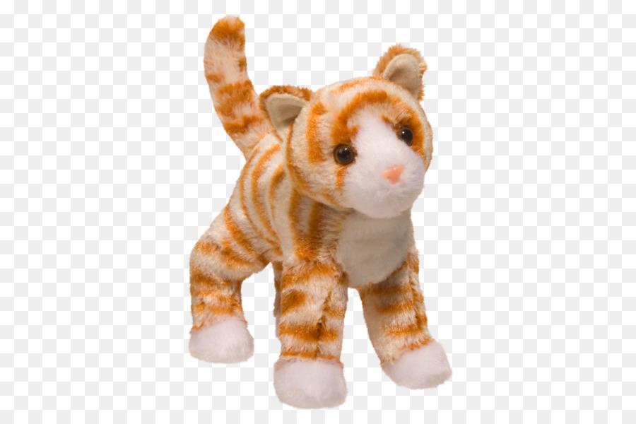 Tabby Cat Kitten Stuffed Animals Cuddly Toys Tortoiseshell Cat