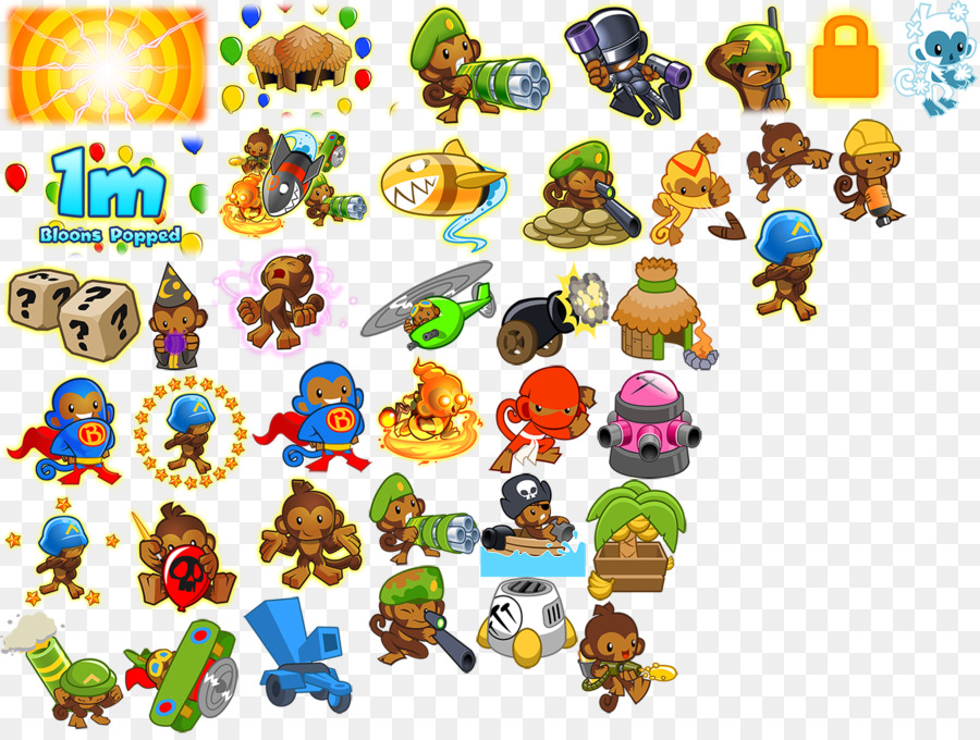 Balloon bloons td 3 clip art balloon png download 768*1024.