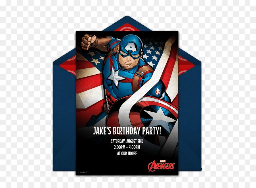Wedding Invitation Birthday Cake Captain America Party Lamb Chops