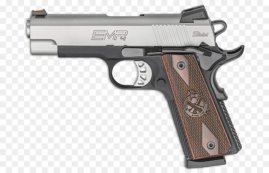 Springfield Armory EMP M1911 pistola .40 S&W, .45 ACP - Handgun png ...