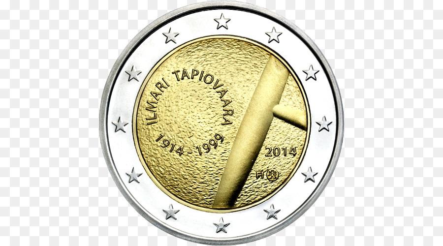 Finnland 2 Euro Gedenkmünzen 2 Euro Münze 20 Cent Euro Münze Png
