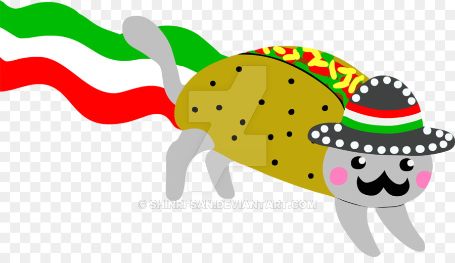 Mexican cuisine Taco Nyan Cat Desktop Wallpaper - Nyan png download - 900*508 - Free Transparent Mexican Cuisine png Download.