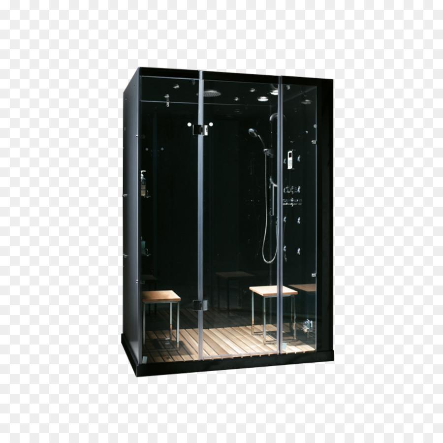 Steam shower Sauna Steam room Bathtub - Steam Shower png download ...