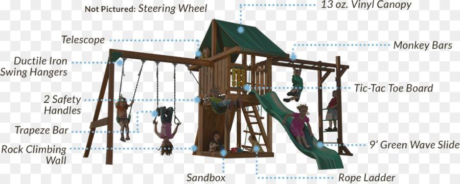 Playground Lifetime Monkey Bar Adventure Swing Set 90143 Jungle Gym